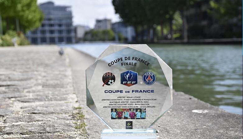 TROPHEE DES ARBITRES FINALE DE COUPE DE FRANCE 2018