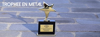 TROPHEES EN METAL